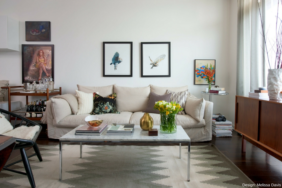Living Room Design, Melissa Davis Design